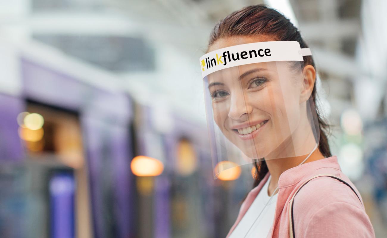 Barrier - Personalisierte Gesichtsschutzschilde