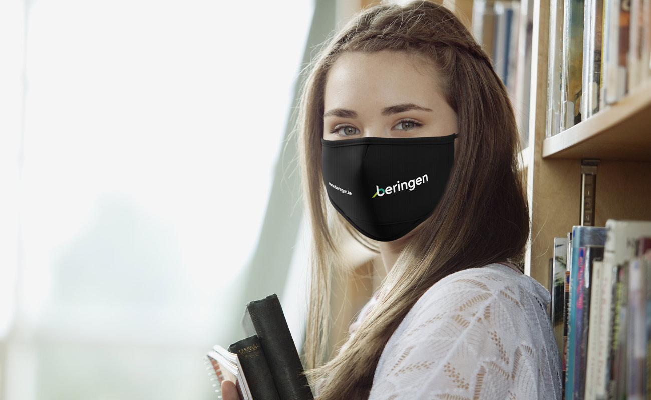 Junior - Schutzmaske mit Logo