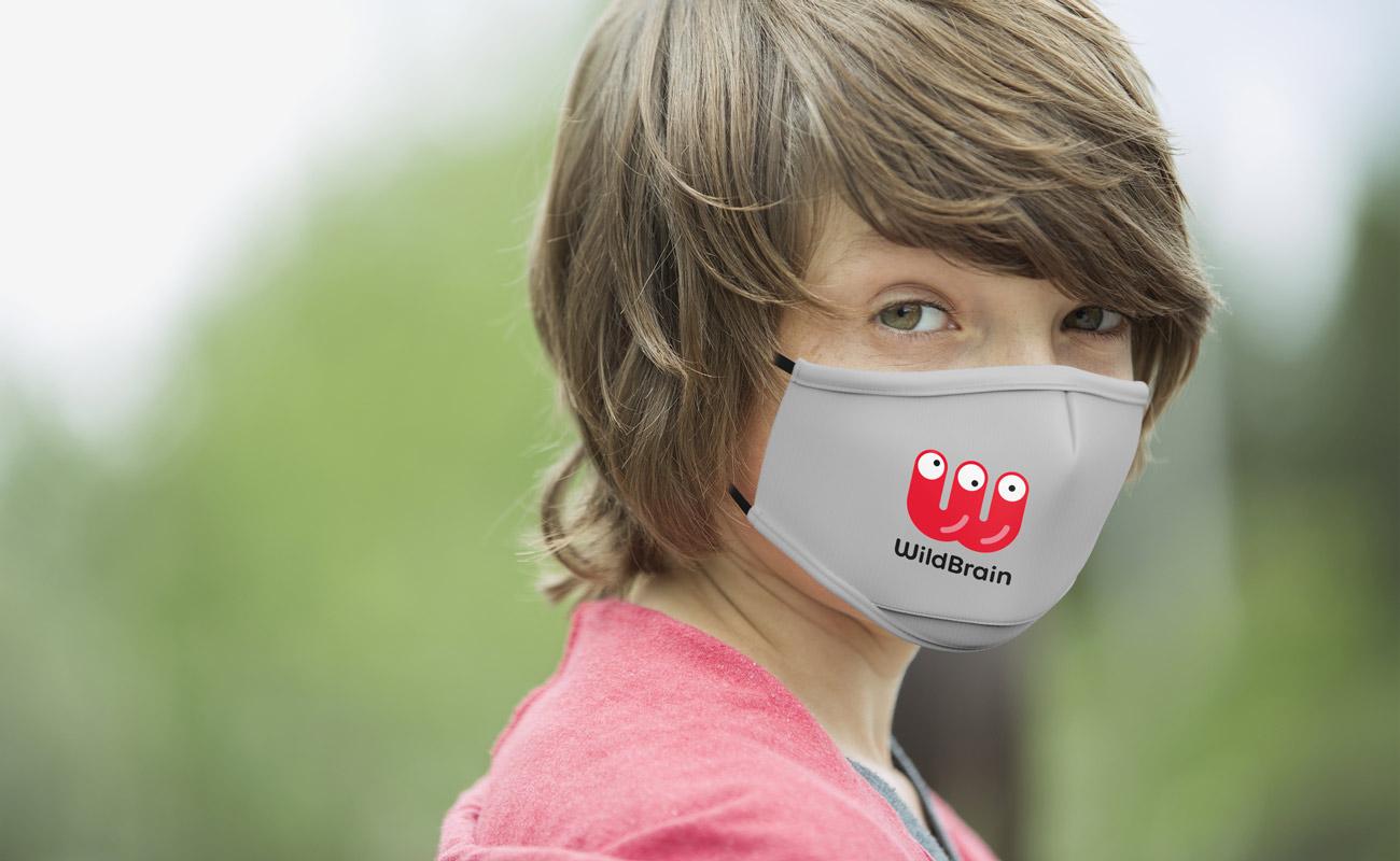 Junior - Mundschutzmasken mit Logo