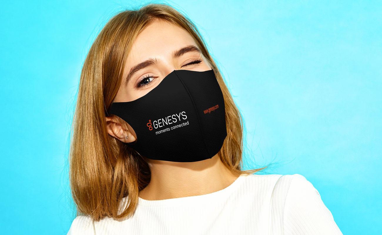 Neo - Mundschutzmasken Bedrucken