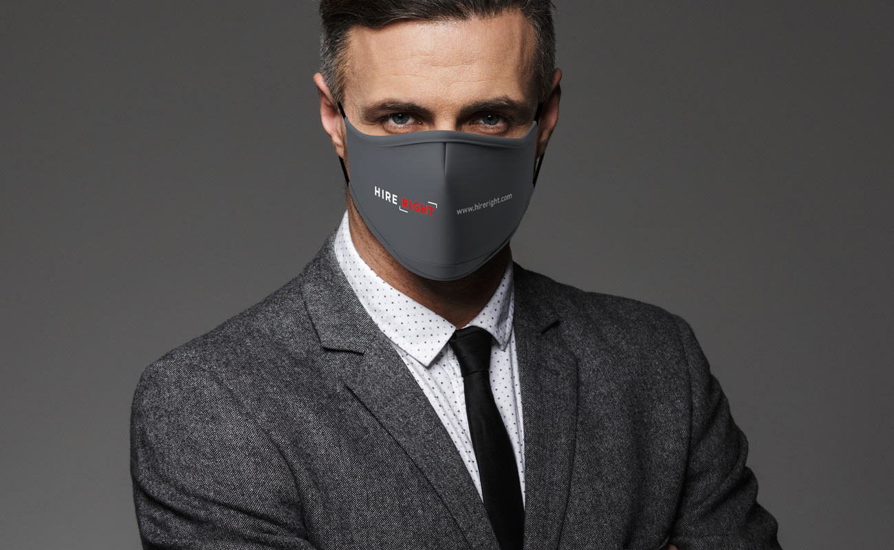 Sky Xtra - Schutzmasken mit Logo