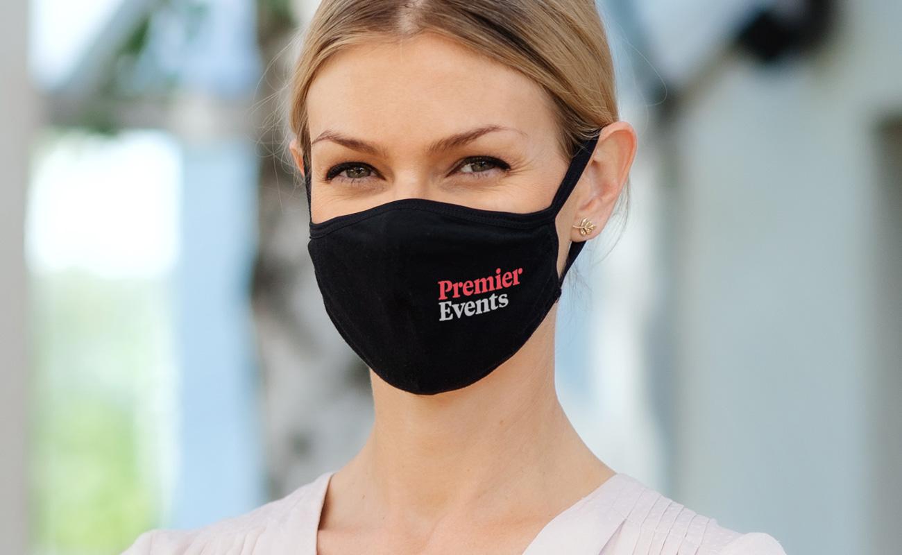 Ultra - Schutzmasken mit Logo